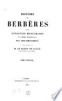 BERBÈRES KHALDOUN IBN HISTOIRE PDF DES TÉLÉCHARGER