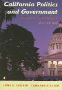 California Politics and Government Book
