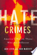 Hate Crimes Revisited Book