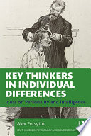 Key Thinkers in Individual Differences Book