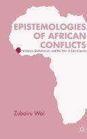 Epistemologies of African Conflicts [Pdf/ePub] eBook