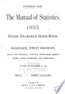 The Manual of Statistics