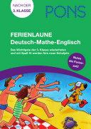 PONS Ferienlaune Deutsch   Mathe   Englisch