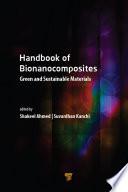 Handbook of Bionanocomposites Book