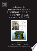 Advances In High Pressure Techniques For Geophysical Applications Book PDF