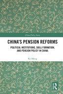 China's Pension Reforms Pdf/ePub eBook