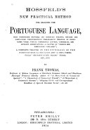 Hossfeld's New Practical Method for Learning the Portuguese Language