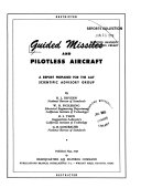 Guided Missiles and Pilotless Aircraft