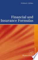 Financial and Insurance Formulas
