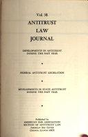 Antitrust Law Journal