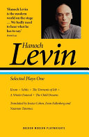 Hanoch Levin  Selected Plays One