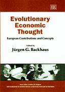 Evolutionary Economic Thought