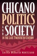 Chicano Politics and Society in the Late Twentieth Century [Pdf/ePub] eBook