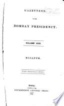 Gazetteer of the Bombay Presidency: Bijápur