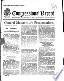 General Macarthur S Proclamations