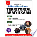 Territorial Army Officers Exams eBook 2019      3000  Questions Included