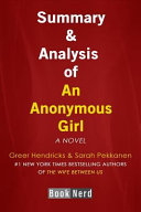 Summary and Analysis of an Anonymous Girl