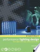 Performance Lighting Design Book PDF