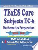 TExES Core Subjects EC 6 Mathematics Preparation 2020   2021