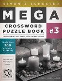 Simon   Schuster Mega Crossword Puzzle Book  3