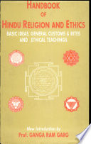 Hand Book of Hindu Religion and Ethis