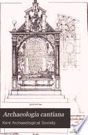 Archaeologia Cantiana