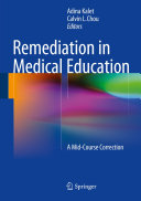 Pdf Remediation in Medical Education Telecharger