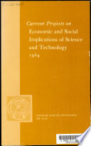 Current Projects on Economic and Social Implications of Science and Technology