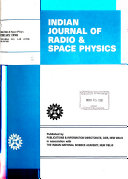 Indian Journal of Radio & Space Physics