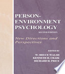 Person Environment Psychology