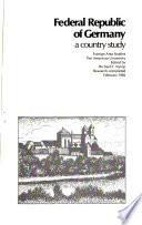 Federal Republic Of Germany A Country Study