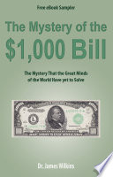 The Mystery Of The 1 000 Bill Free Ebook Sampler