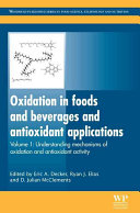 Oxidation in foods and beverages and antioxidant applications Book