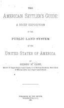 The American Settler s Guide