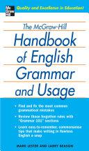 The McGraw Hill Handbook of English Grammar and Usage