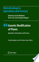 Genetic Modification of Plants