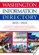 Washington Information Directory 2021 2022