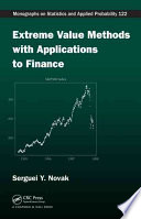 Extreme Value Methods with Applications to Finance
