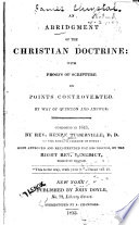 An Abridgment Of The Christian Doctrine
