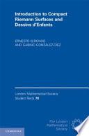 Introduction To Compact Riemann Surfaces And Dessins D Enfants