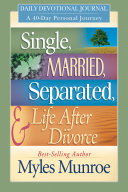 Single  Married  Separated and Life after Divorce Daily Study