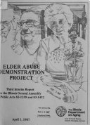 Elder Abuse Demonstration Project