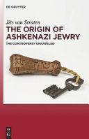 The Origin of Ashkenazi Jewry Book