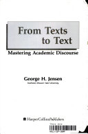 From Texts to Text