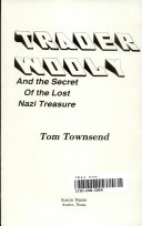 Trader Wooly and the Secret of the Lost Nazi Treasure Book