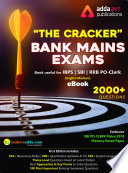 """""""The Cracker Mains Exams eBook: Among the Top Selling and Most Reliable book to Crack Mains Exam"""" by Adda 247 Publications"""