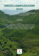 Avances de la Geomorfolog  a en Espa  a  2012 2012