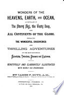 Wonders of the Heavens  Earth  and Ocean Book