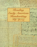 Reading Early American Handwriting Pdf/ePub eBook