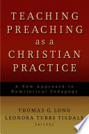 Teaching Preaching as a Christian Practice